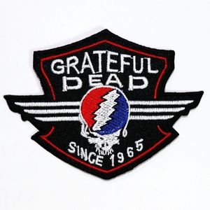 Grateful Dead patch Band iron on Woodstock DIY